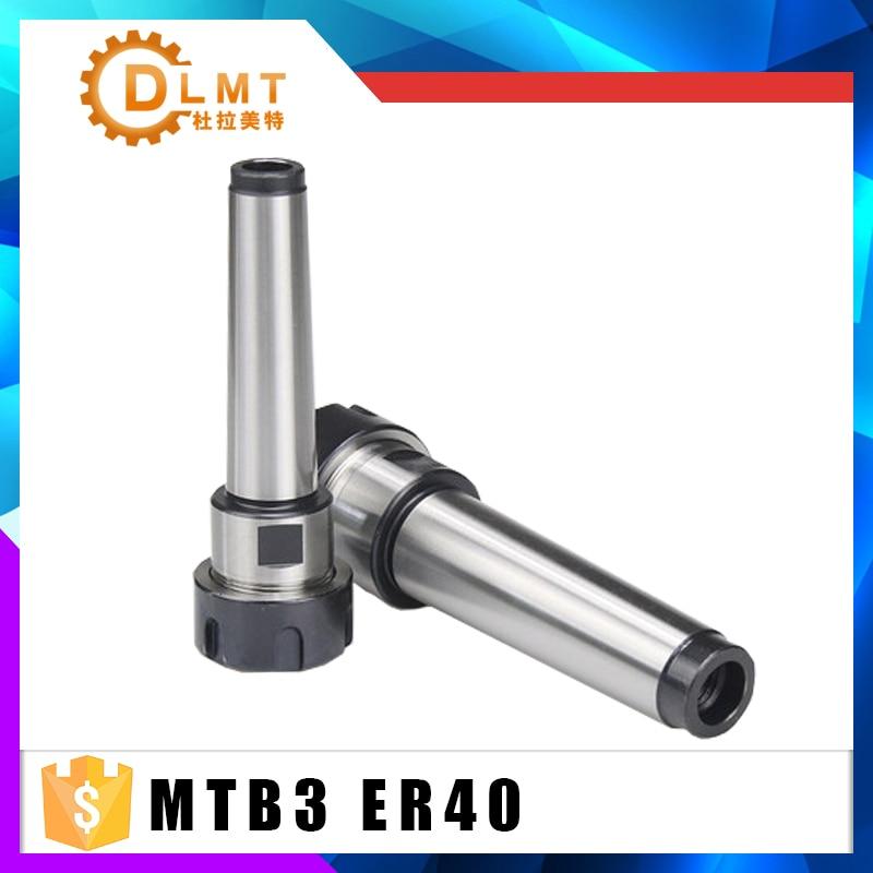 MTB3 ER40 mt3 er40 Collet chuck handle 3# Morse Cone Milling Chuck handle Taper MT3 Toolholder Clamp CNC part MTB3 ER40
