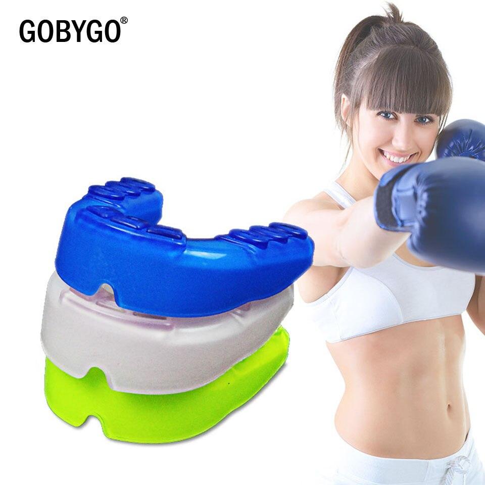 GOBYGO, Protector bucal deportivo, Protector de dientes de silicona, Protector bucal juvenil para niños, protección dental para baloncesto, Rugby, Boxeo