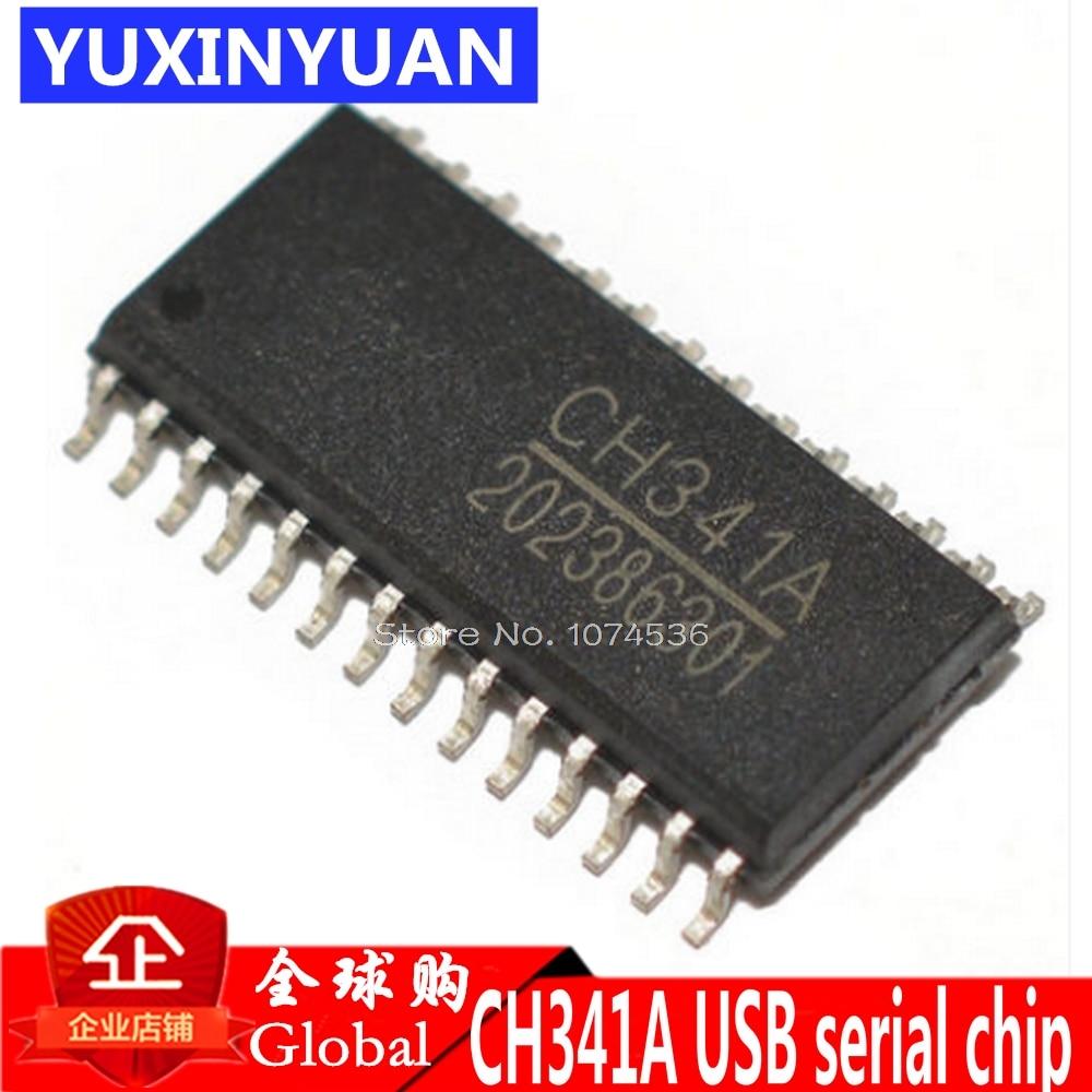 Marca nueva original CH341A CH341 parche SOP-28 Serie USB chip 1 piezas