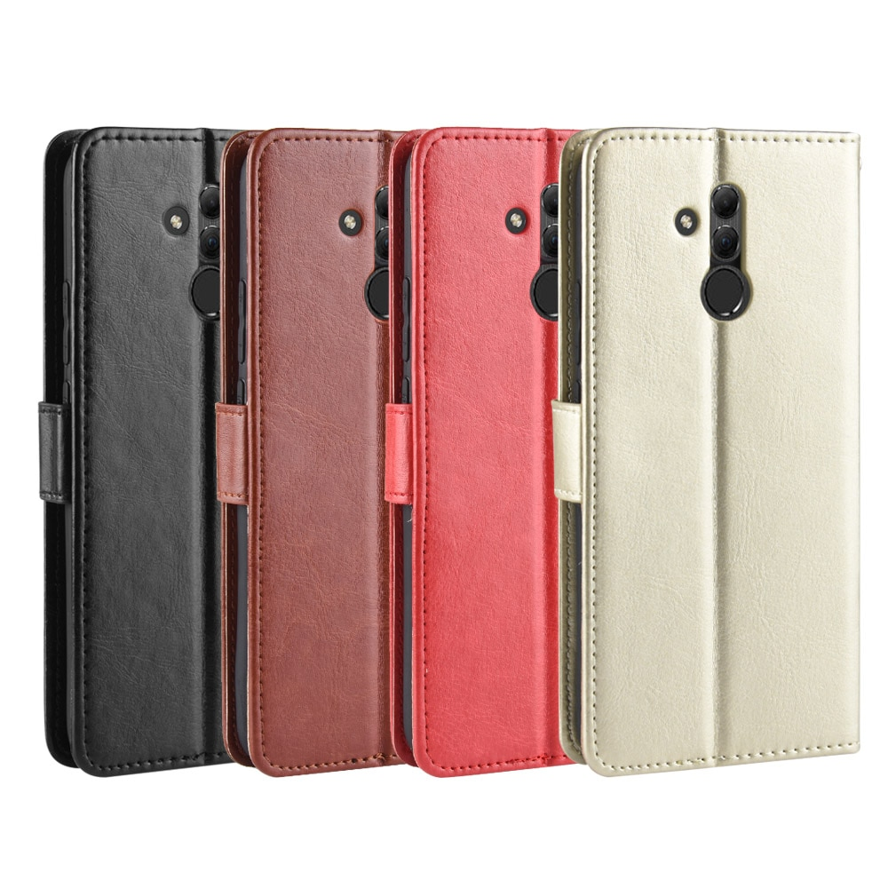 Leather Wallet Case For Huawei Mate 20 20 Lite 20 Pro 20 X Mate 10 Lite Nova 2i G10 Honor 9i Maimang 6 7 Flip Cover Card case