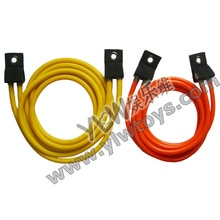 Corde élastique de latex de haute qualité de 2 m, câbles élastiques de tube en caoutchouc de forme physique professionnelle/accessoires de trampoline de sport