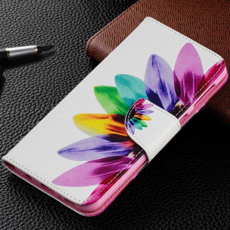 Teléfono de lujo caso para LG G7 ThinQ G6 Mini G5 Q6 K7 K8 K10 2017 2018 V30 Stylo4 G3 lindo pintado ciruelo tapa DP07Z