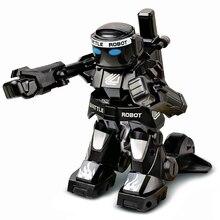 Gadgets USB batalla RC Robot Lichaam Gevoel tamaño Mini MANDO A Figuur Speelgoed a Boksen Geluid regalo de los niños juguete