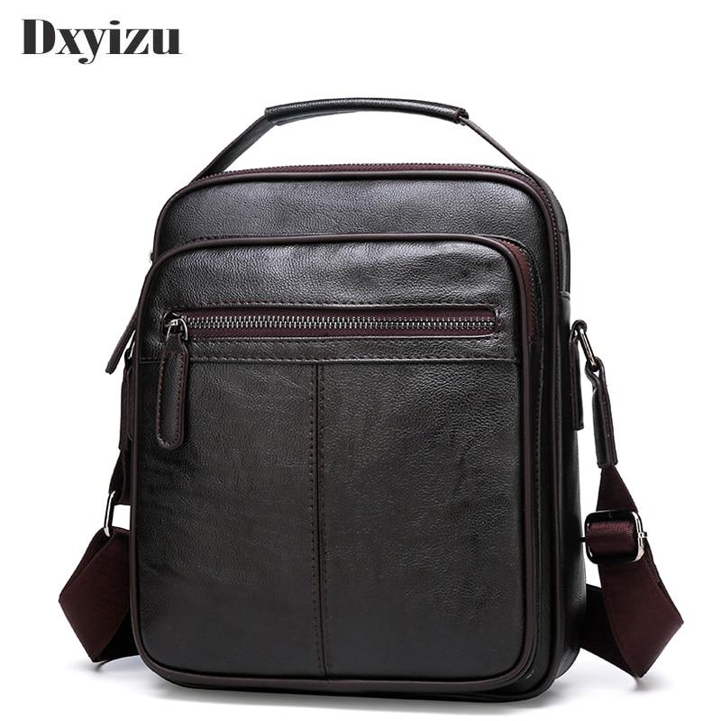 2020 Casual Soft Leather Handbag Small Single Shoulder Bag Crossbody Retro Hot Sale Messenger Bags For Male Business Handbag