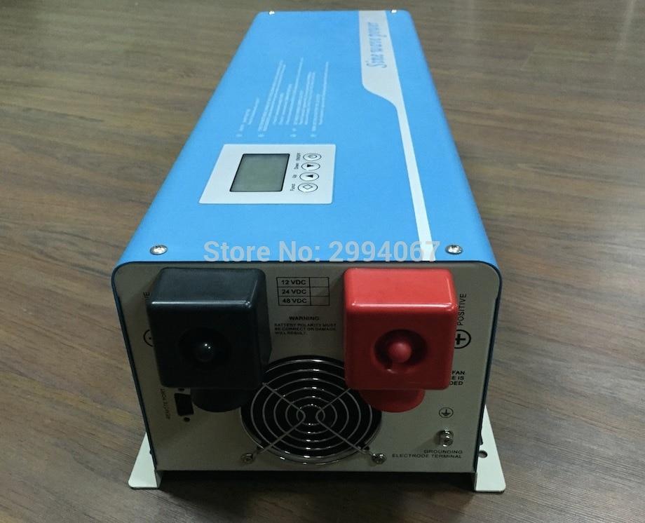 Inversor de energía de sobretensión de 10 kW 5000W DC48V/24V a AC220V con transformador toroidal fuera de la red inversor solar cargador de CA