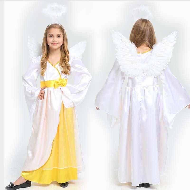 Детский костюм принцессы для девочек; Детские карнавальные костюмы «Ангел»; Вечерние костюмы на день рождения; Костюм Пурима на Хэллоуин и ...