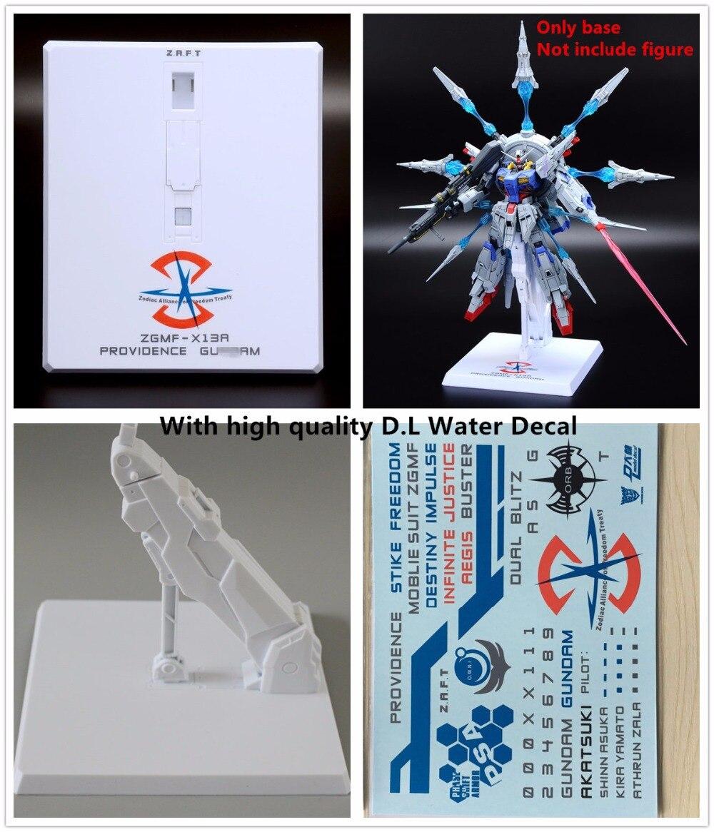 Base de semillas de modelo de fuerte para Bandai MB MG 1/100 destino justicia Strike Gundam *