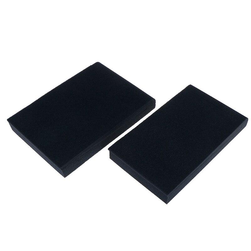 HOT!2pcs New Sponge Studio Monitor Speaker Acoustic Isolation Foam Isolator Pads