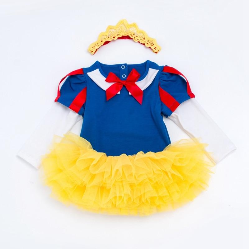 Newborn Princess Clothing Birthday Set Summer Kids Clothes 1st Birthday Bodysuit+Tutu Skirt+Shoes+Headband 4pcs Clothes Set