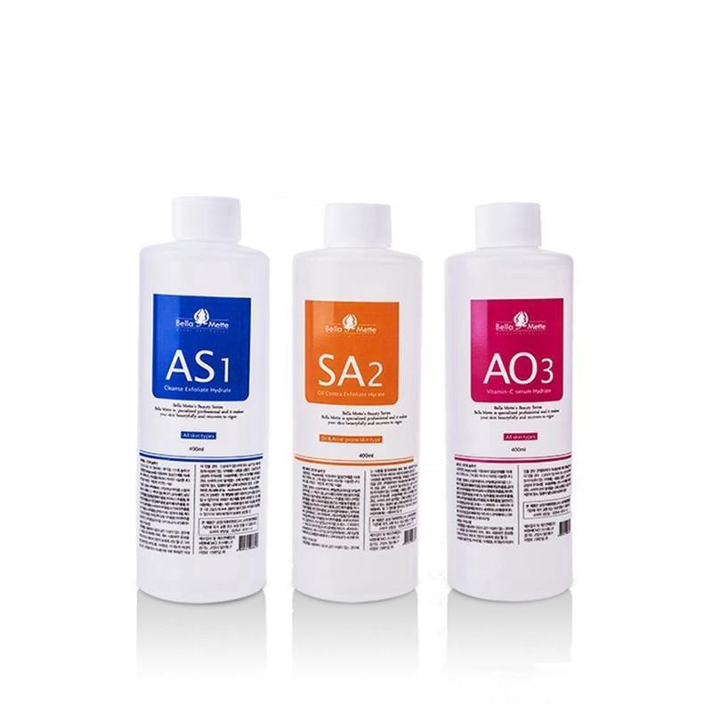 Аква пилинг раствор 400 мл в бутылке Аква Сыворотка для лица Гидра раствор для лица использовать для гидро машинка для шлифовки лица