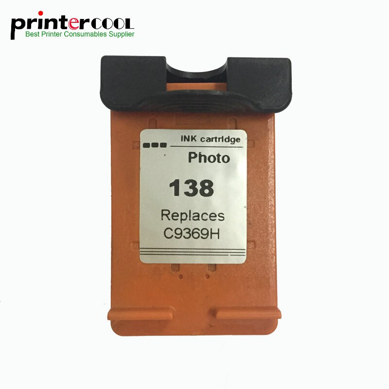 Einkshop 138 cartucho de tinta remanufacturada de hp 138 Photosmart C3180 C3183 Deskjet serie 5740, 5748, 6520, 6540, 6840, 6620