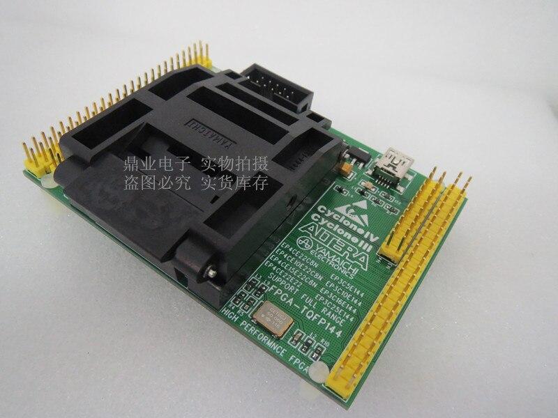 Clamshell EP3C5/10 EP3C16/25 EP4CE6/10 EP4CE15/22 TQFP144 YAMAICHI IC Adaptador de assento Queima de teste assento Socket Test test bench