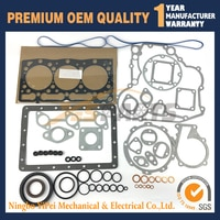 Full Gasket kit Upper and Lower For Kubota D1105 diesel engine parts