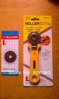dafa taiwan produce 1 piece 45mm1 piece blade fabric roller cutter circle cutting machinerotary cutter