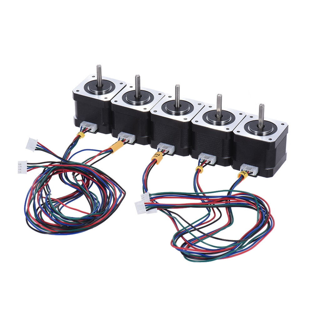 Paso a paso, accesorio de impresora 3D, reemplazo Nema 17, paso a paso, Control de conducción de Motor, 2 fases