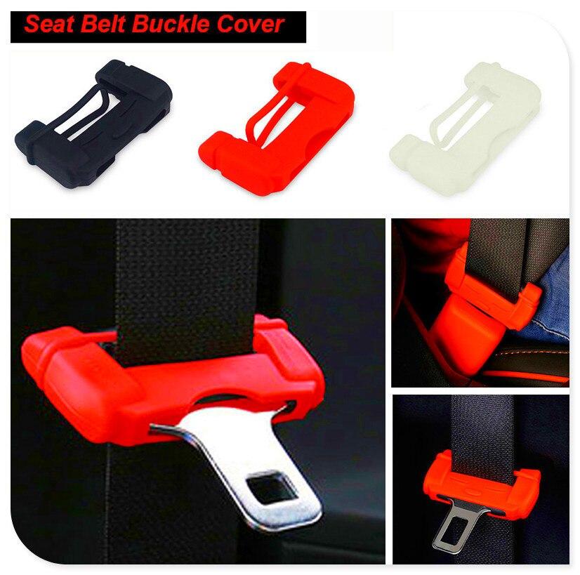 Auto Sitz sicher Gürtel Schnalle gummi Abdeckung Für Ford Focus MK2 MK3 MK4 kuga Escape Fiesta Ecosport Mondeo Fusion