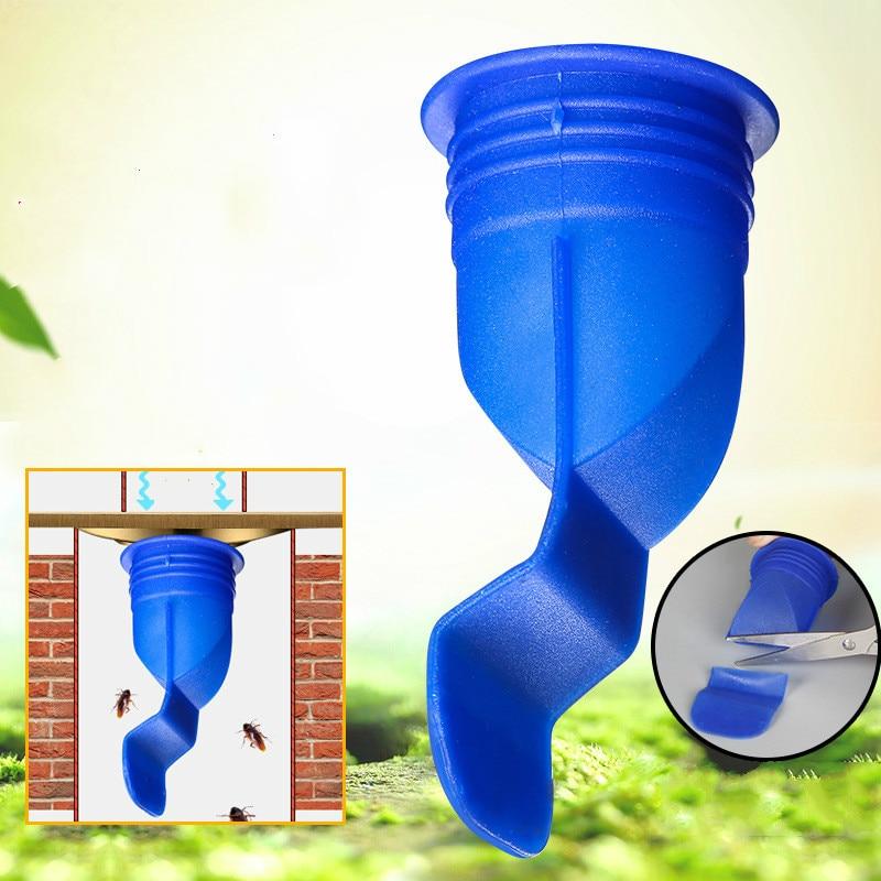 Силиконовый кухонный фильтр для сливного отверстия трубы канализационный слив анти-запах борьбы с вредителями трап аксессуары круглая крышка из нержавеющей стали