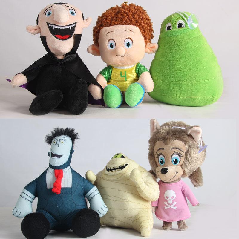25cm bat vampiro elf hotel brinquedos de pelúcia bonecas recheadas grito brinquedo de pelúcia winnie dennis brinquedos de pelúcia para crianças crianças presente