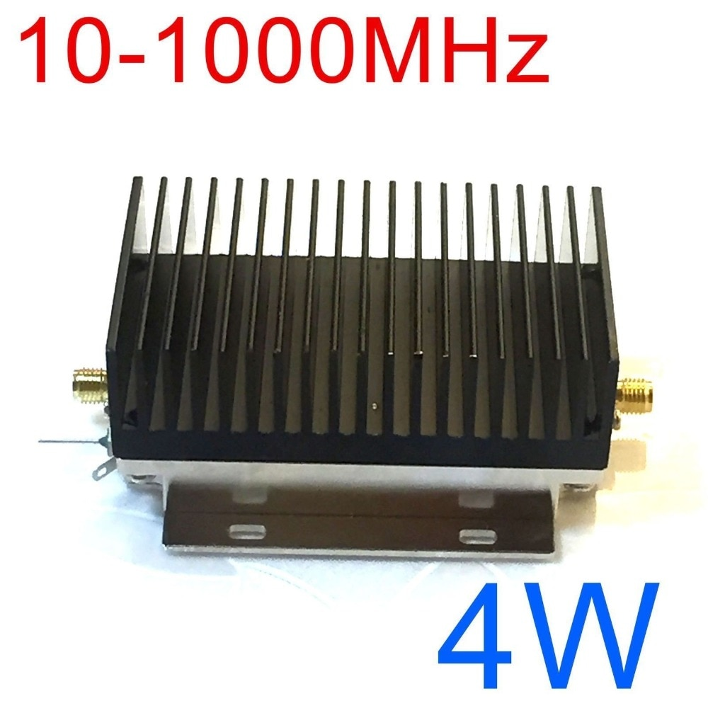 10-1000mhz 4w hf vhf uhf fm transmissor de banda larga rf amplificador de potência para rádio ham walkie talkie onda curta remoto