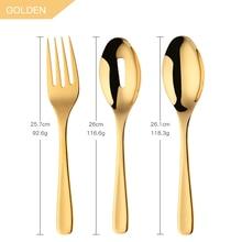 Cuillères fourchette en acier inoxydable   Cuillère pour salade, grande vaisselle de 10 pouces, passoire Gadgets de cuisine, outils de Restaurant dhôtel