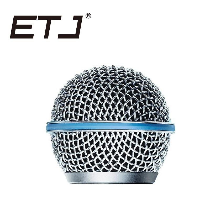 Rejilla del micrófono de malla de repuesto para BETA58 BETA58A SM58SK SM58LC,...