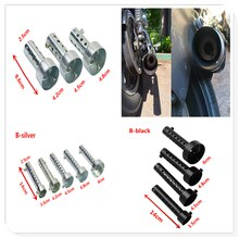 Motorcycle Exhaust Muffler DB Killer Silencer Noise Sound Eliminator for HONDA XR230 MOTARD XR250 MOTARD CRM250R AR