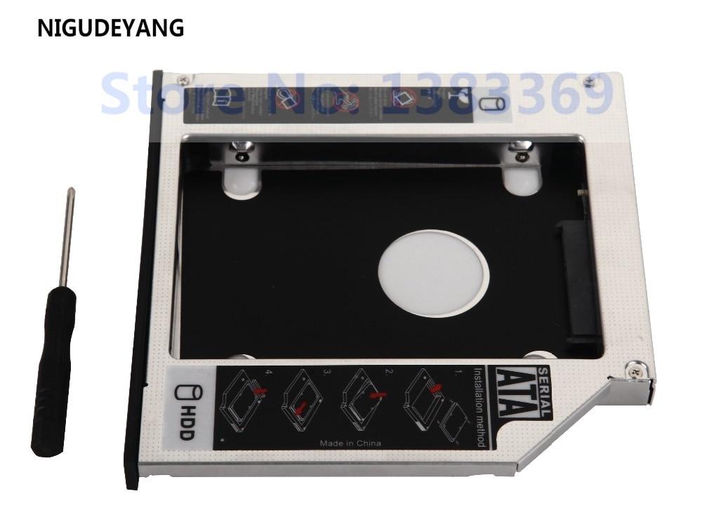 NIGUDEYANG nouveau 2nd SATA disque dur HDD SSD Caddy pour Acer Aspire 5730 5734 4336 4535G 4749 5335