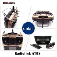 at9s 2 4g 9ch system transmitter with r9ds receiver at9 remote control rc quadcopter helicopter radiolink