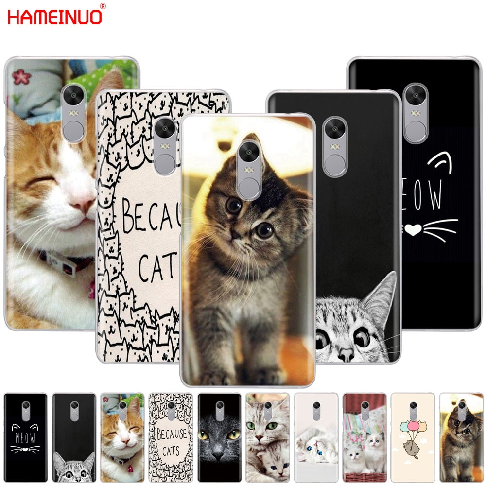 Чехол для телефона gameinuo meow, милый чехол для Xiaomi redmi 5 plus, 4, 1, s, 2, 3, 3 s, pro, redmi note 5, 4, 4X, 4A, 5A PRIME