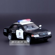 Hoge Simulatie Prachtige Diecasts & Toy Vehicles Kinsmart Auto Styling Ford Crown Victoria Politie Interceptor 142 Legering Model Auto
