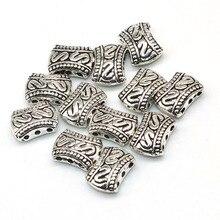 30 Stks/partij Metalen Bedels Sliver Plated Drie Hole Connectors Lichtmetalen Spacer Kralen Voor Handwerken Diy Sieraden Accessoires