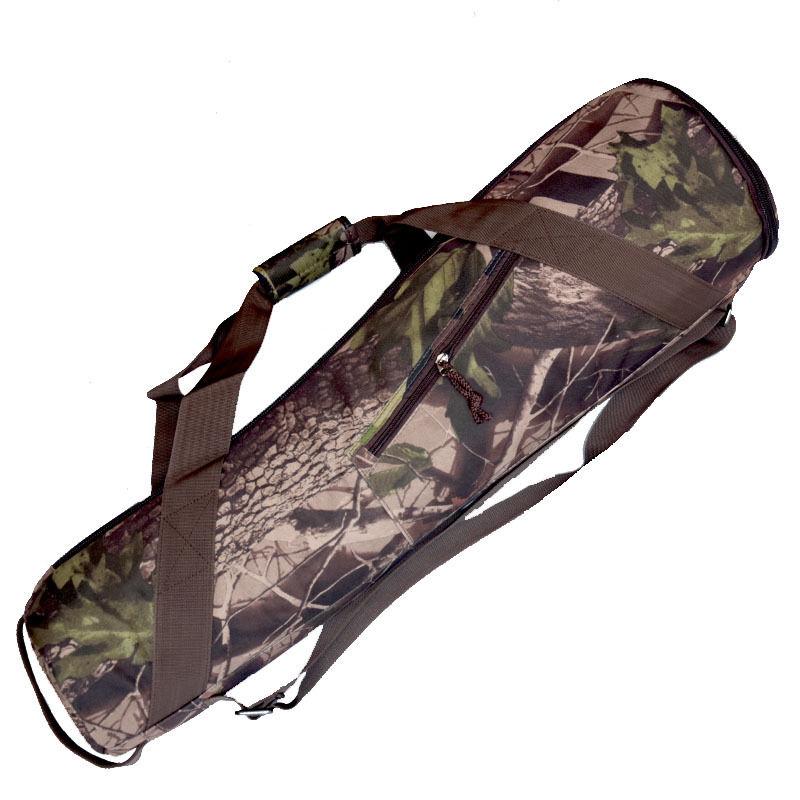 Camouflage Camera Tripod Unipod Carry Bag Fishing Rod Tool Case Quakeproof 70cm 80cm 95cm
