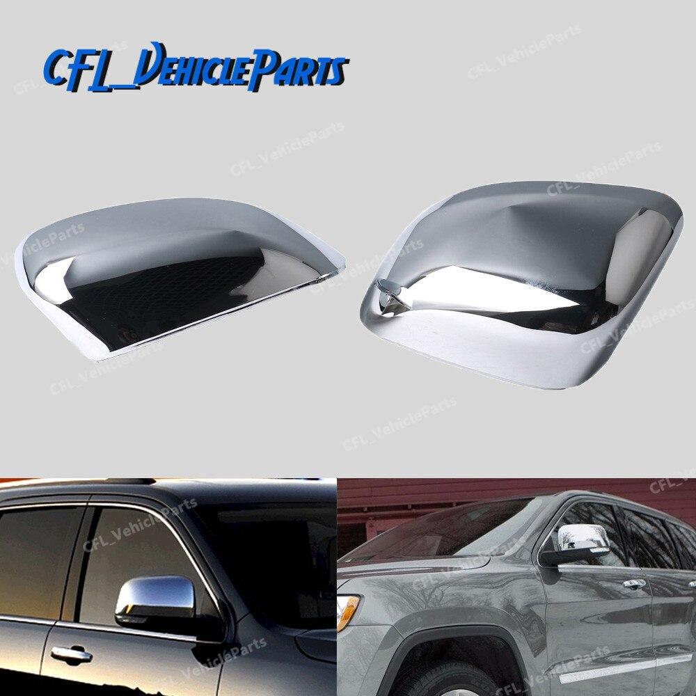 Хромированная внешняя зеркальная крышка 82212218 для Jeep Grand Cherokee 2011 2012 2013 2014 2015 2016 2017 2018 Для Dodge Durango