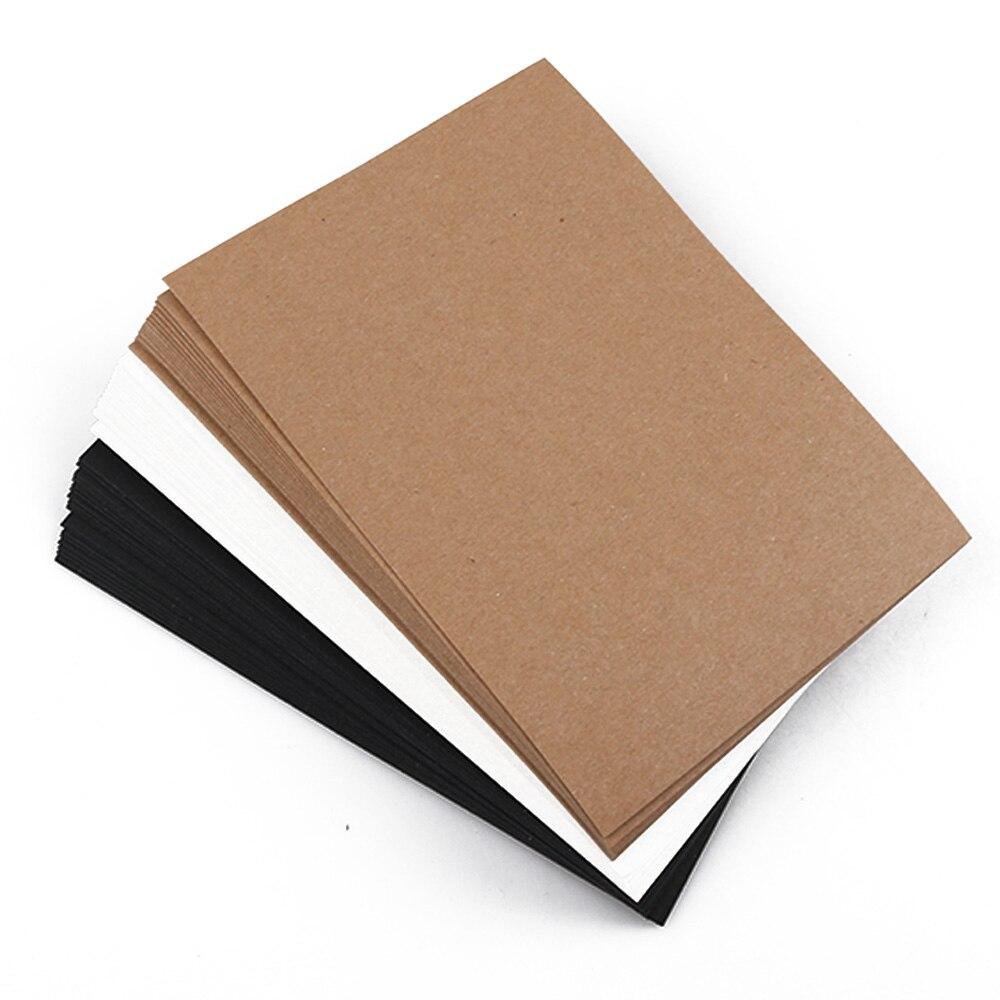 10 листов крафт бумаги блокноты для письма бизнес блокнот канцелярские карточки