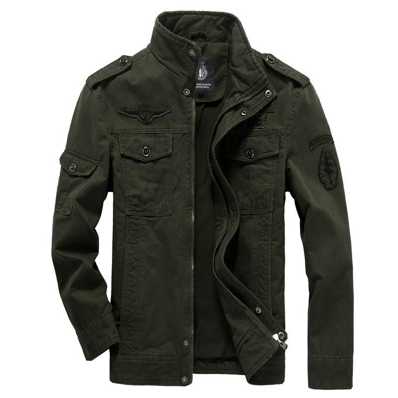 Мужская хлопковая куртка в стиле милитари, осенняя армейская куртка-бомбер в стиле MA-1 с изображением солдата, Мужская брендовая одежда, муж...