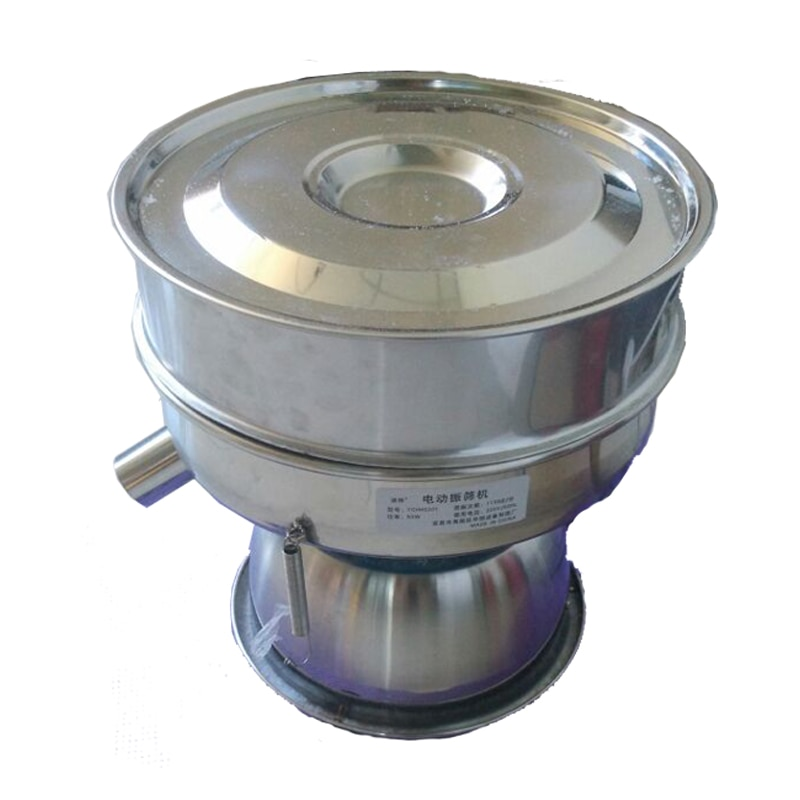 YCHH0301 Electric Sieve Machine Electrical Vibrating Machine For Powder Particles Stainless Steel Sieve For Chinese Medicine enlarge