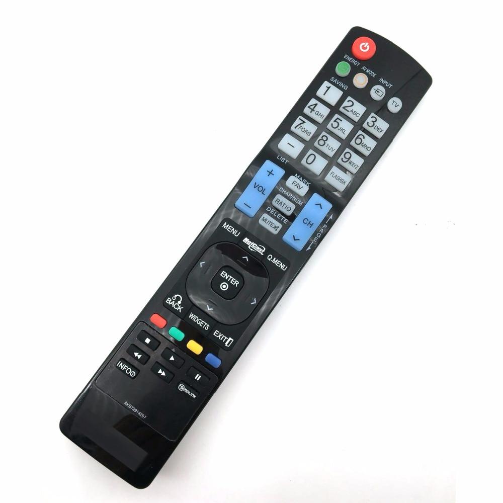 Nuevo control remoto sustituido AKB72914207 sub AKB74115501 AKB72915206 apto para LG LCD TV