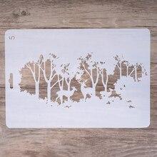 Bricolage artisanat pochoirs renne pour bricolage   Scrapbooking, artisanat destampage, cartes en papier décoratives dalbum