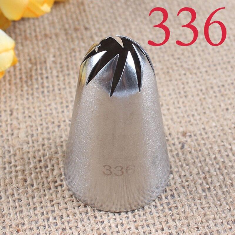 #336 большой размер из нержавеющей стали DIY глазурь окантовки Торт кондитерский мешок для крема сопло Parsty инструменты для украшения тортов из мастики
