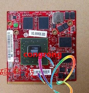 Para Acer Aspire 4920G 5530G 5720G 5920G 7520G para HD4570 ATI Mobility Radeon HD 3650 HD3650 DDR2 512MB portátil tarjeta de gráficos de Video