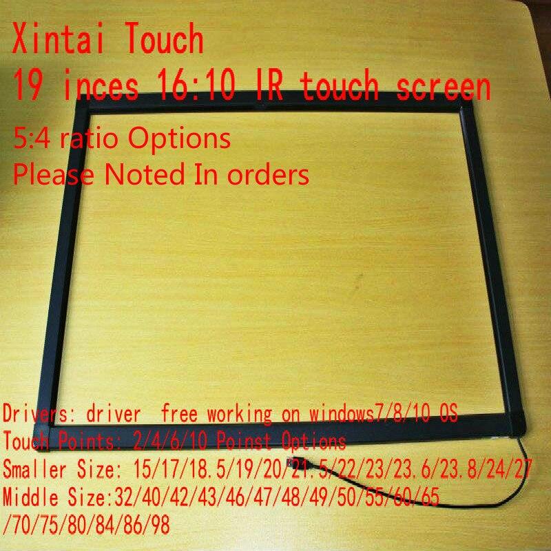 Los más vendidos para pantalla táctil IR de 19 pulgadas 2 puntos