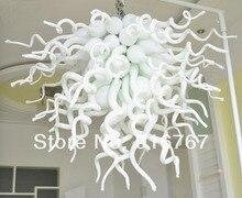 LR390-Free livraison décoration de la maison moderne en verre blanc pendentif lumières