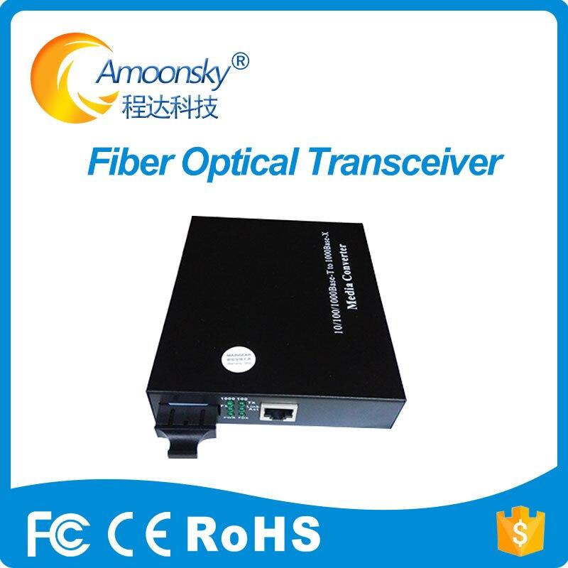 Full color display led conversor de fibra óptica levou fibra converter cvt310 linsn-mc801 como novastar controlador multi-modo de fibra