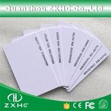 (100pcs/lot) Smart Card RFID Tag 125 KHZ TK4100 (compatible EM4100) ID Access Control Cards ISO 14443