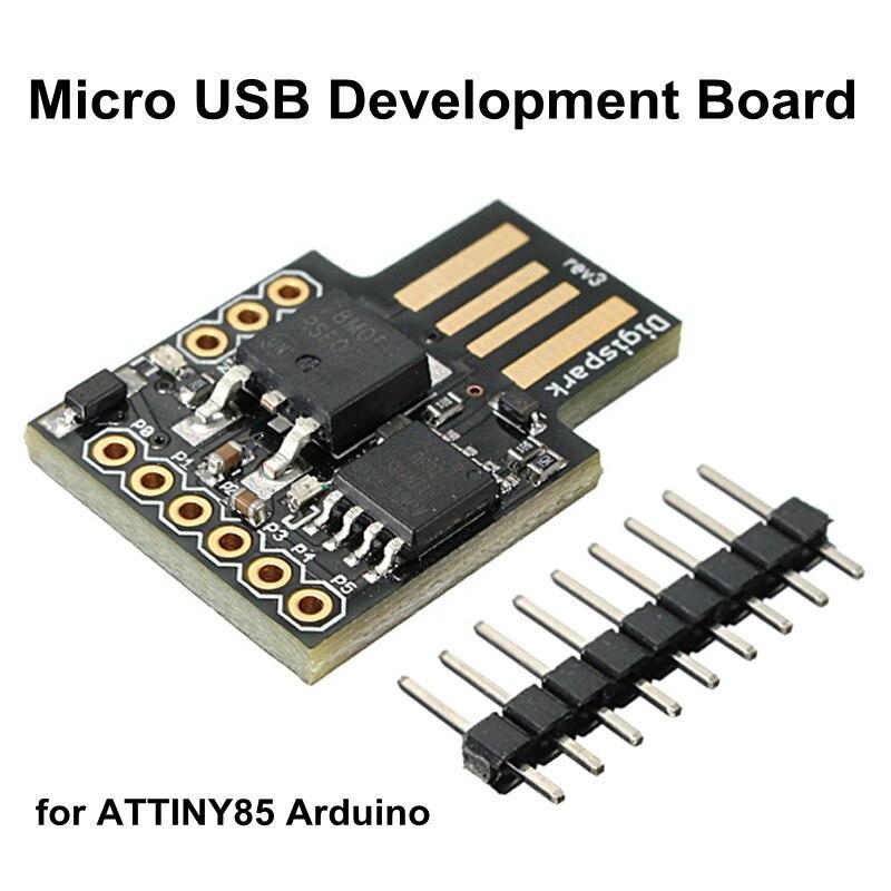 3 قطعة/الوحدة Digispark Kickstarter مايكرو USB مجلس التنمية ل ATTINY85 DIY شحن مجاني