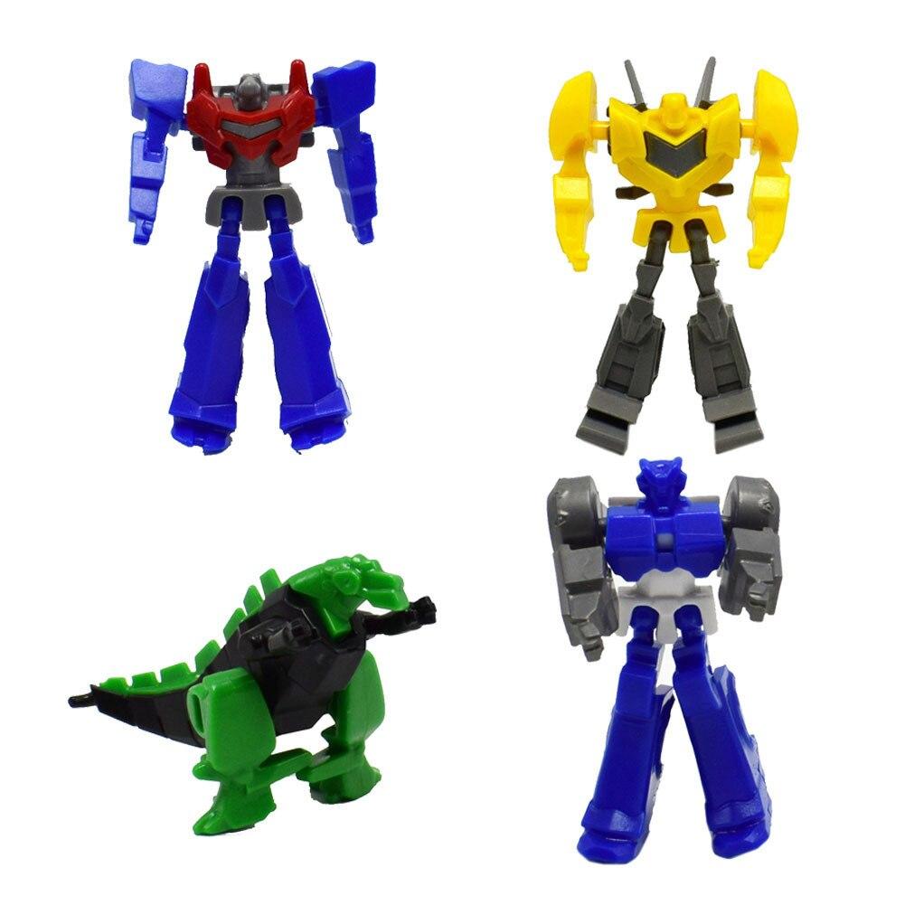 4 style Mini assembly robot Building block toy tamiya model mass effect