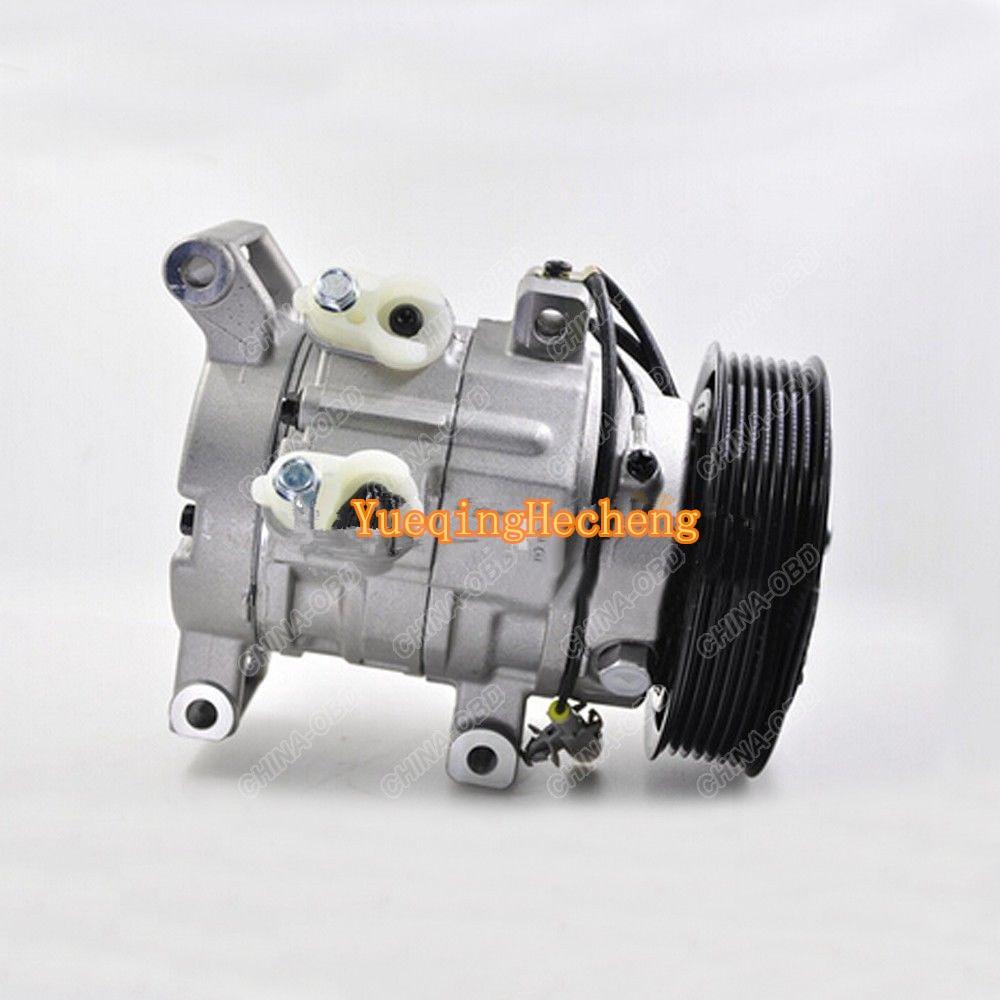 Auto compresor de CA 447160-1970 para Hilux Vigo RAV4 2KD 1KD para 10S11C envío gratis