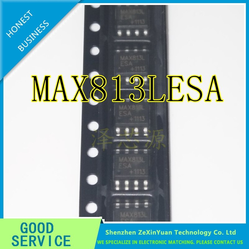100 unids/lote MAX813 MAX813LCSA MAX813LESA SOP-8 nuevo