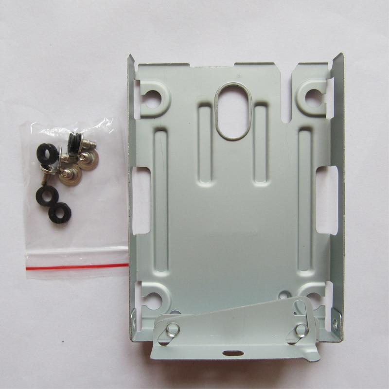 10 шт. супер тонкий жесткий диск HDD Монтажный кронштейн Caddy чехол протектор + винты для Sony PlayStation 3 PS3 CECH-400x серии