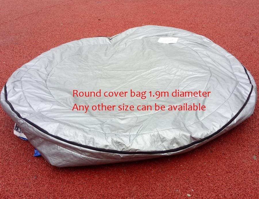 جولة حوض استحمام ساخن سبا غطاء UV معزول غطاء حقيبة قطر 190 سنتيمتر x 90 سنتيمتر عالية أخرى حجم يمكن أن تكون متوفرة